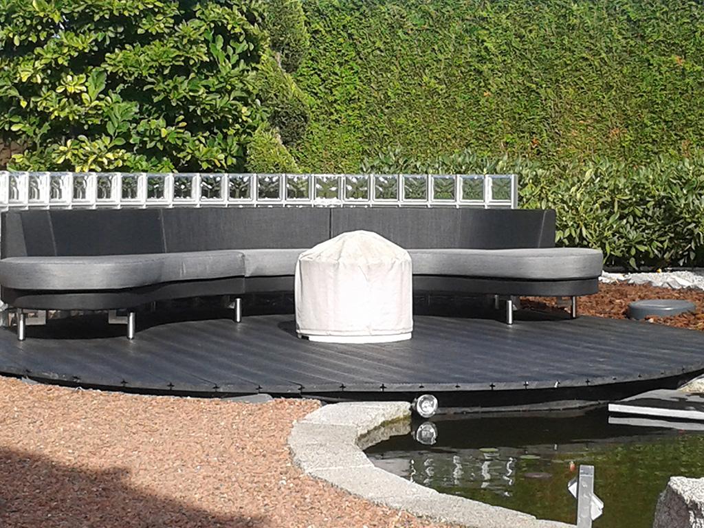 Waterpartij zithoek JVM Tuinen